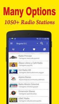 Radio Colombia FM Online poster