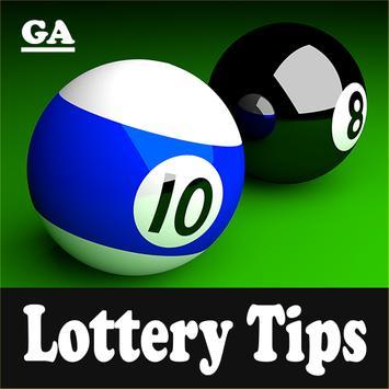 Georgia Lottery App Tips poster
