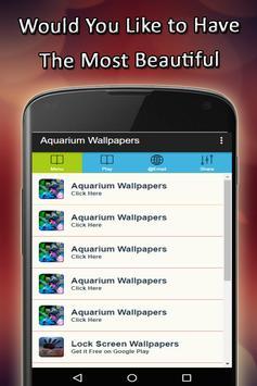 Aquarium Wallpapers poster