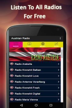 Austrian Radio Stations poster
