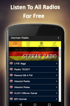 German Radio FM poster