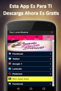 Soy Luna Musica Gratis apk screenshot