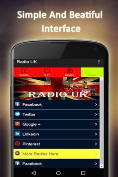 Radio UK Free apk screenshot