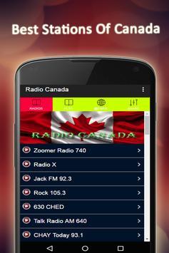 Radio Canada FM Free poster