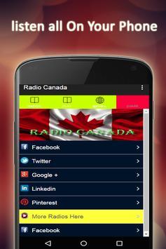 Radio Canada FM Free apk screenshot