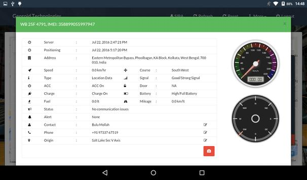 GeoroidTracking apk screenshot