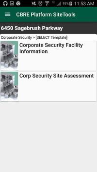 CBRE SiteTools apk screenshot