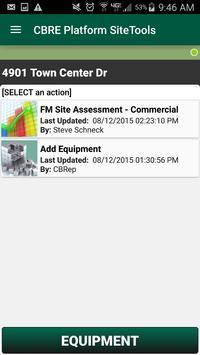 CBRE SiteToolsX apk screenshot