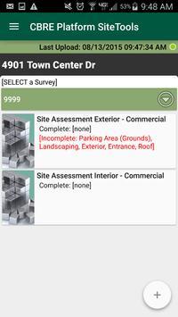 CBRE SiteToolsX screenshot 2