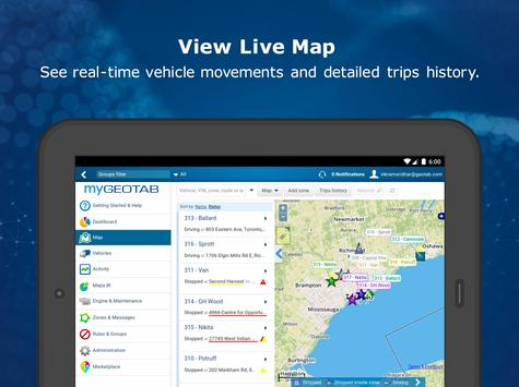 MyGeotab Fleet Management screenshot 7