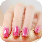 gel nail polish icon