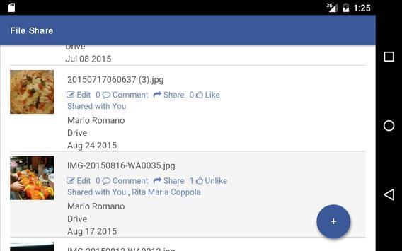 File Share for Facebook screenshot 10