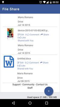 File Share for Facebook screenshot 2