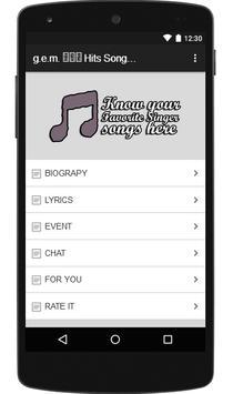 g.e.m. 邓紫棋 Hits Songs & Lyrics. poster