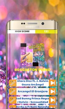 Reggaeton Music Piano Tiles poster