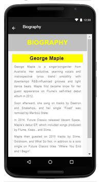 George Maple - Music And Lyrics apk screenshot