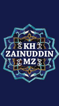 Ceramah KH Zainuddin MZ poster
