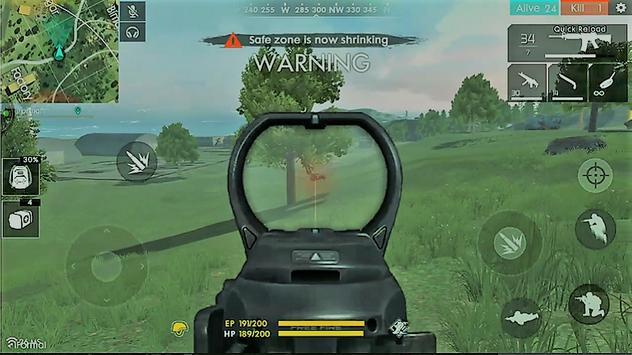 Guide For Free Fire Battleground New screenshot 7