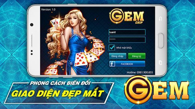 GemChip - Chơi bài đổi thưởng ảnh chụp màn hình 4