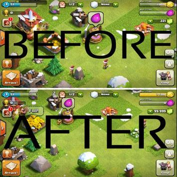 Boost Gems for Clash of Clans poster