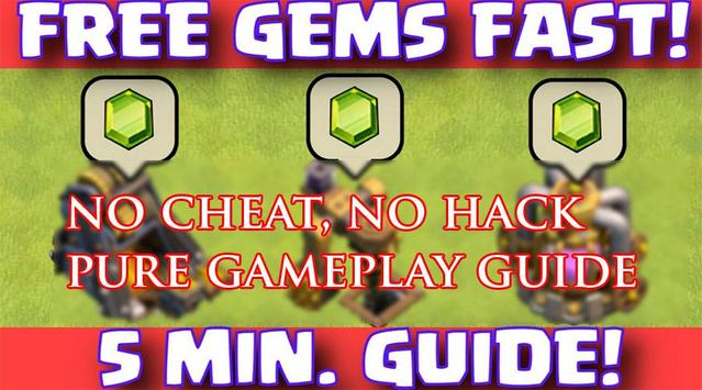 Boost Gems for Clash of Clans screenshot 1