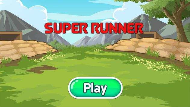 Super Runner Boy - Go Edition poster