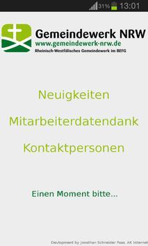 Gemeindewerk NRW poster
