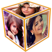3D Photo Frame Cube Live Wallpaper icon