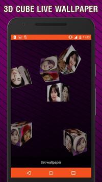 3D Photo Frame Cube Live Wallpaper apk screenshot