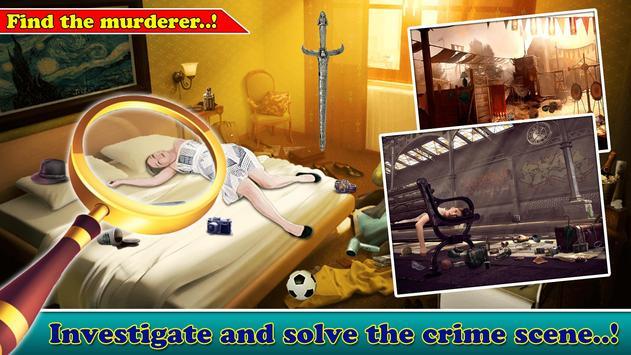 Criminal Diary Hidden Object poster