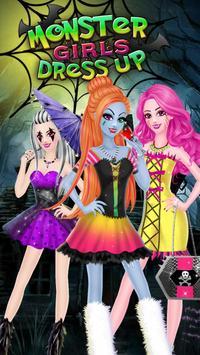Monster Girl Party DressUp poster