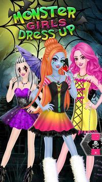 Monster Girl Party DressUp screenshot 8