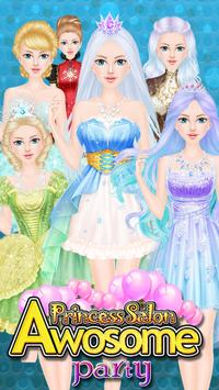 Princess Salon Awesome Party poster