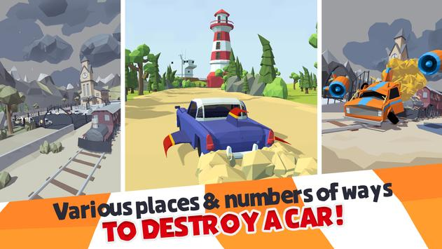 Crash Test Destruction - Epic faily ride screenshot 1