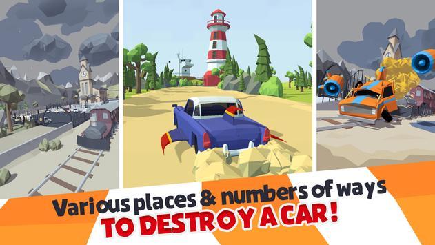 Crash Test Destruction - Epic faily ride screenshot 4