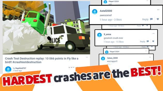 Crash Test Destruction - Epic faily ride screenshot 5