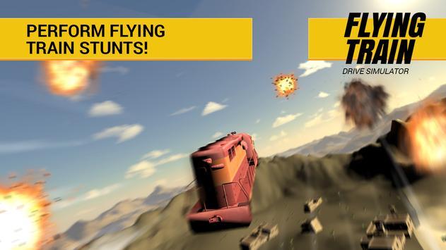 Flying Train Driving apk screenshot