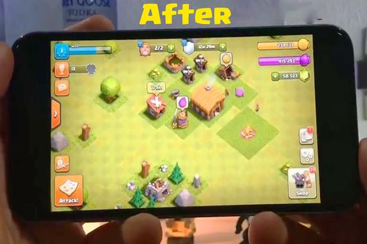 Cheat for Clash of Clans Prank screenshot 2