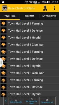 Base Clash Of Clans screenshot 1