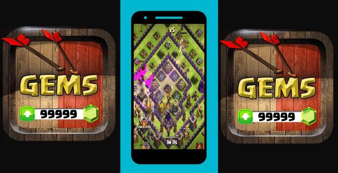 Free Gems Clash of Clans FHX Magic Prank! v.0.9.99 screenshot 2