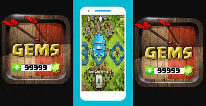 Free Gems Clash of Clans FHX Magic Prank! v.0.9.99 screenshot 6