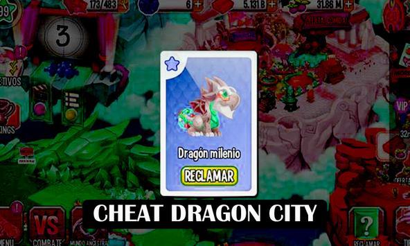 Cheat Dragon City apk screenshot