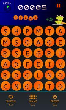 BeanZilla - Arcade word game! apk screenshot