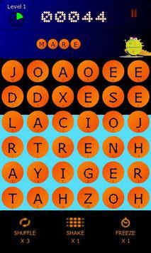 BeanZilla - Arcade word game! poster