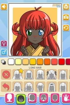 Anime Face Maker GO FREE screenshot 2