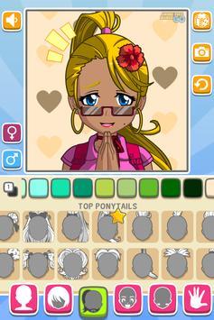 Anime Face Maker GO FREE screenshot 5