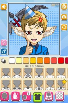 Anime Face Maker GO FREE screenshot 7
