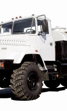 Wallpapers KrAZ 6322 Truck poster