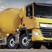 Concrete Mixer Truck New Top Jigsaw Puzzles icon