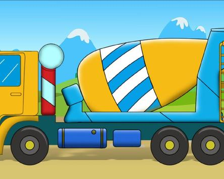 Concrete Mixer Truck New Top Jigsaw Puzzles screenshot 3